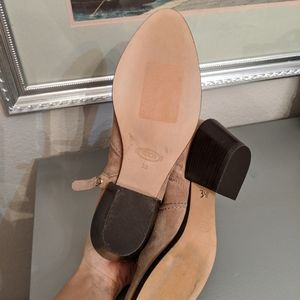 Tod's Shoes - Tod's Western suede booties size 38